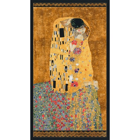 Panneau de tissu Gustav Klimt - Le Baiser