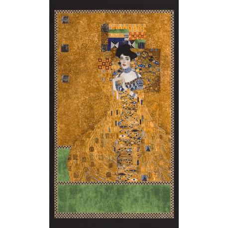 Panneau de tissu Gustav Klimt - Portrait d'Adèle Bloch-Bauer