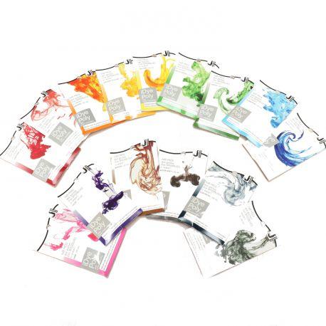 iDye Poly : Panel des coloris disponibles