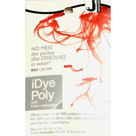 Teinture pour le polyester iDye Poly - Rouge