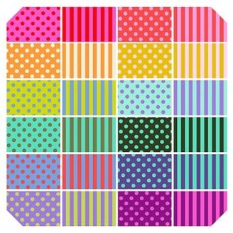 Charm pack des tissus coordonnés All Stars de Tula Pink