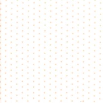 Tissu patchwork classique pois beiges fond blanc cassé - Victoria de 3 Sisters