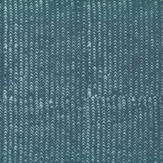 Tissu batik moderne - Circonflexe gris étain