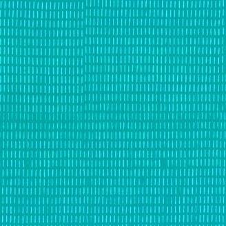 Tissu batik moderne - Rayures discontinues fond Turquoise Aquamarine