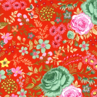 tissus fleuris tissus grandes fleurs au fil d 39 emma. Black Bedroom Furniture Sets. Home Design Ideas