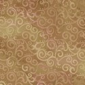 Tissu patchwork faux-uni Arabesque Camel - Ombre Scroll
