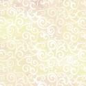 Tissu patchwork faux-uni Arabesque Ecru - Ombre Scroll