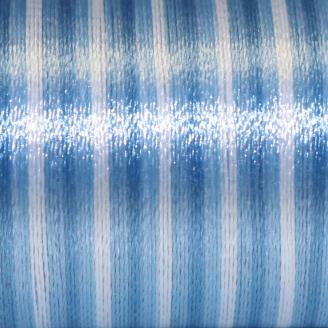 Fil fantaisie multicolore Au Chinois - Bleu 128