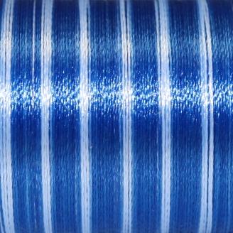 Fil fantaisie multicolore Au Chinois - Bleu foncé 132