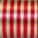 Fil fantaisie multicolore Au Chinois - Rouge/Gris 203