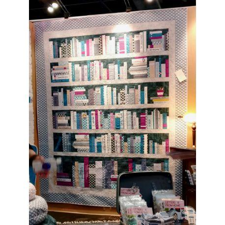 Ma Bibliothèque - Modèle de patchwork personnalisable (en français)