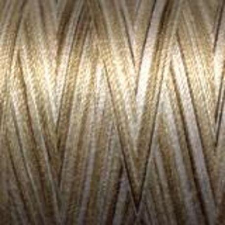 Fil coton Mako 28 dégradé écru chocolat 4667