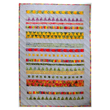 Arlequin - modèle de patchwork à télécharger