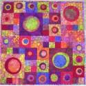 Couleurs d'été - modèle de patchwork à télécharger
