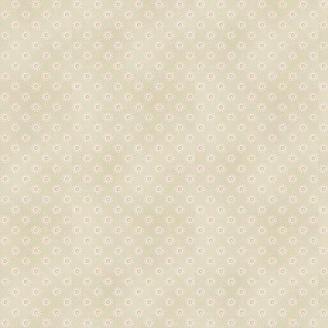 Tissu pacthwork pois fantaisie fond crème - Dream de Makower
