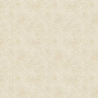 Tissu patchwork marguerites fond crème - Dream de Makower