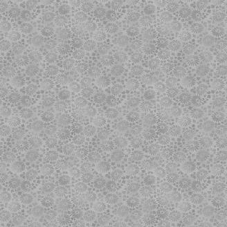 Tissu patchwork marguerites fond gris - Dream de Makower