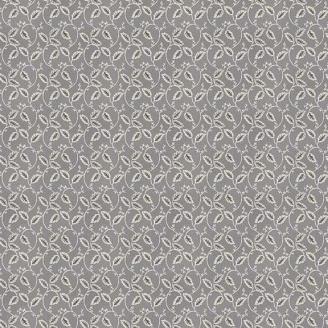 Tissu patchwork vigne fond gris - Dream de Makower