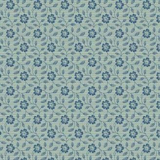 Tissu patchwork belle de jour bleue ton sur ton - Something Blue d'Edyta Sitar