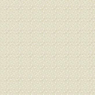 Tissu patchwork japonais treillage doré fond écru - Kimono