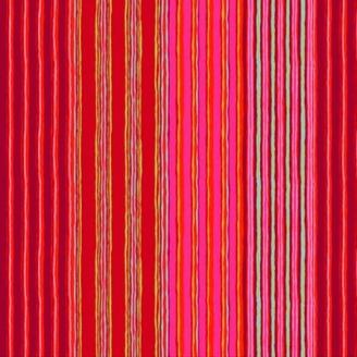 Tissu Kaffe Fassett rayures Regimental rouges GP163