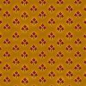 Tissu patchwork feuilles d'érable fond moutarde - Farmstead Harvest de Kim Diehl