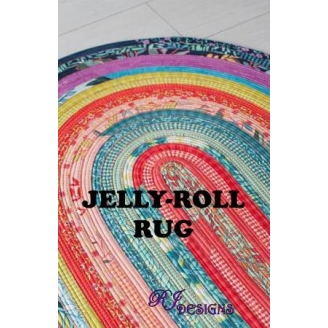 Jelly Roll Rug - Tapis avec un Jelly Roll