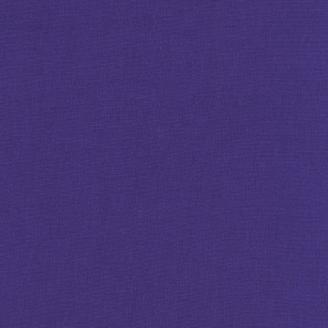 Tissu patchwork uni de Kona - Violet Pervenche foncée (Bright Periwinkle)