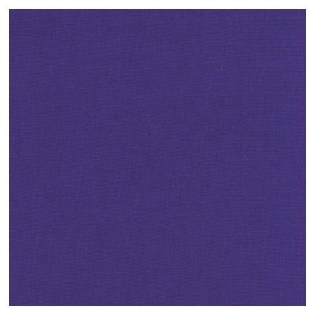 Tissu patchwork uni de Kona - Violet Pervenche