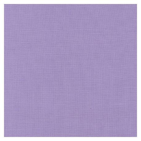Tissu patchwork uni de Kona - Violet Chardon