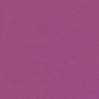 Tissu patchwork uni de Kona - Violet Géranium