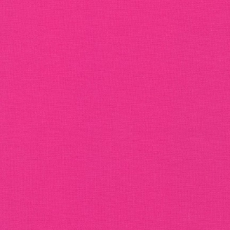 Tissu patchwork uni de Kona - Rose Valentine (Valentine)