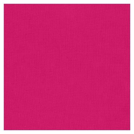 Tissu patchwork uni de Kona - Rose Grenade