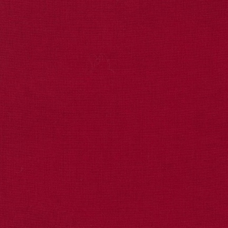 Tissu patchwork uni de Kona - Rouge intense (Rich red)