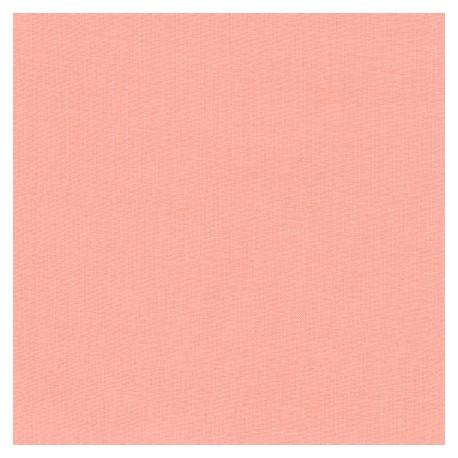 Tissu patchwork uni de Kona - Pêche