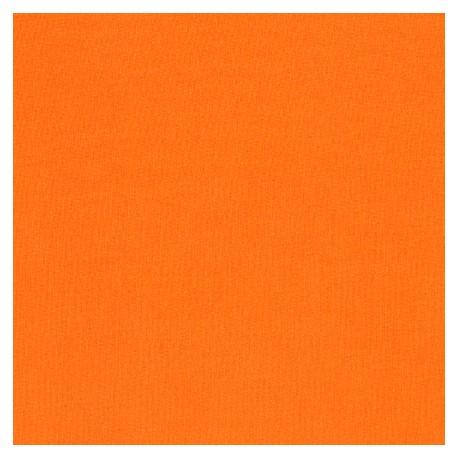 Tissu patchwork uni de Kona - Orange