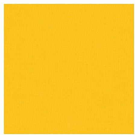 Tissu patchwork uni de Kona - Maïs