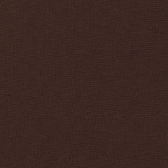 Tissu patchwork uni de Kona - Café