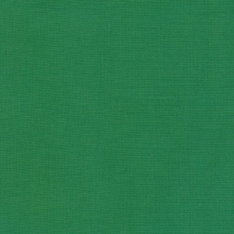 Tissu patchwork uni de Kona - Vert Fougère (Fern)