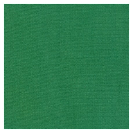 Tissu patchwork uni de Kona - Vert Fougère