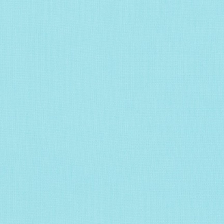 Tissu patchwork uni de Kona - Aqua