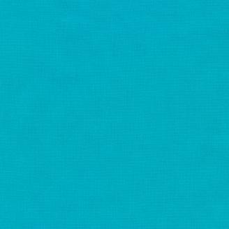 Tissu patchwork uni de Kona - Brise Marine