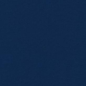Tissu patchwork uni de Kona - Bleu Tempête (Storm)