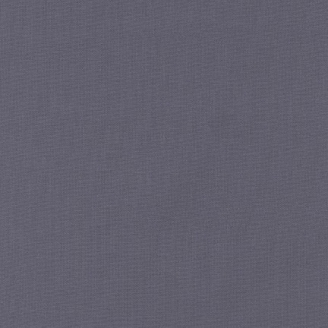 Tissu patchwork uni de Kona - Charbon (Coal)