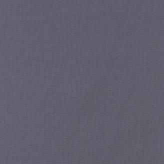 Tissu patchwork uni de Kona - Charbon