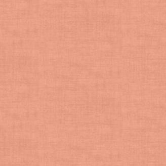 Tissu patchwork faux-uni rose corail