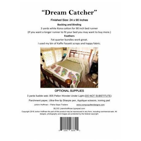 Dream Catcher - patron de patchwork (en anglais)