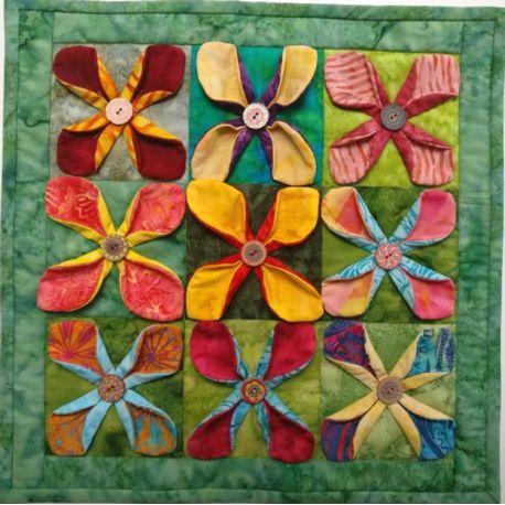 Popped Color - patron de patchwork (anglais et français)