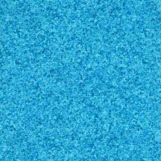 Tissu patchwork moucheté bleu océan