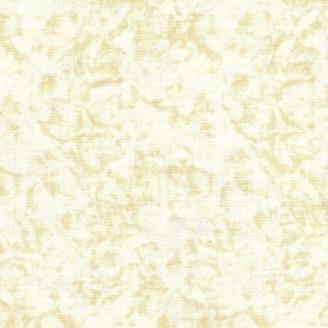 Tissu patchwork faux-uni crème